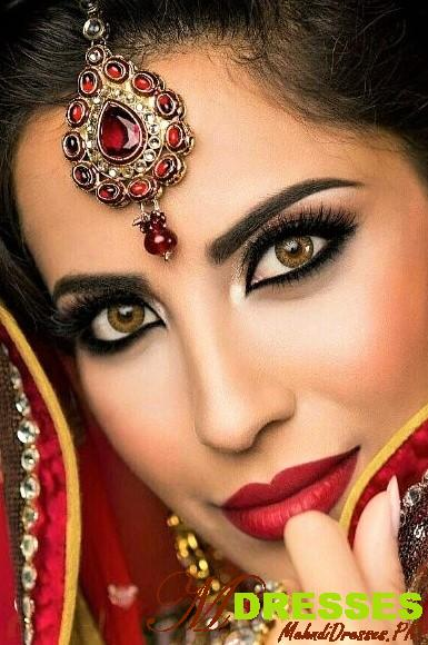 Ultimate Arabic Eyes Makeup Look Style for Wedding