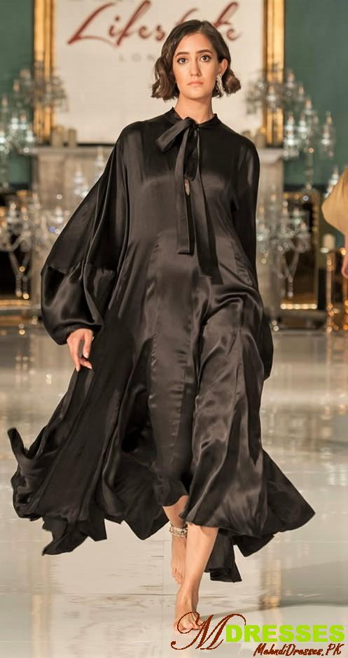 Maheen khan Black party dress