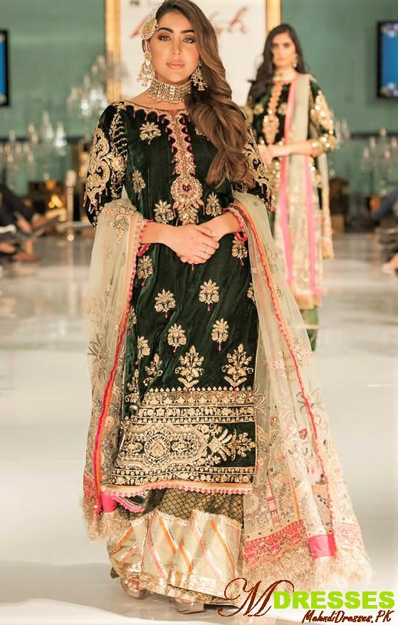 Saadia Asad evening wear at life style london