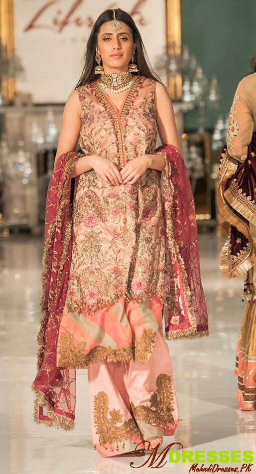 Saadia Asad party wear at life style london