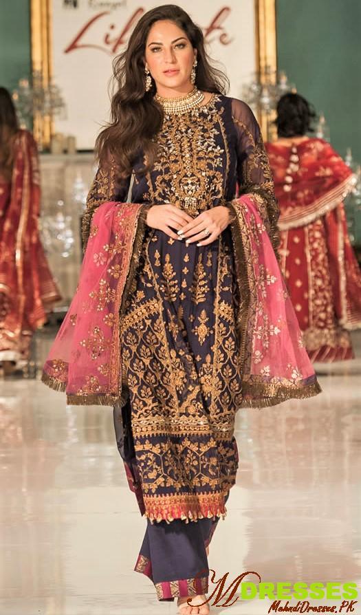 Saadia Asad life style london festive collection 2019