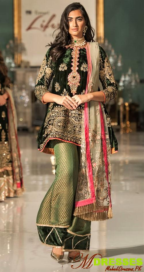 Saadia Asad fashion wear collection 2019