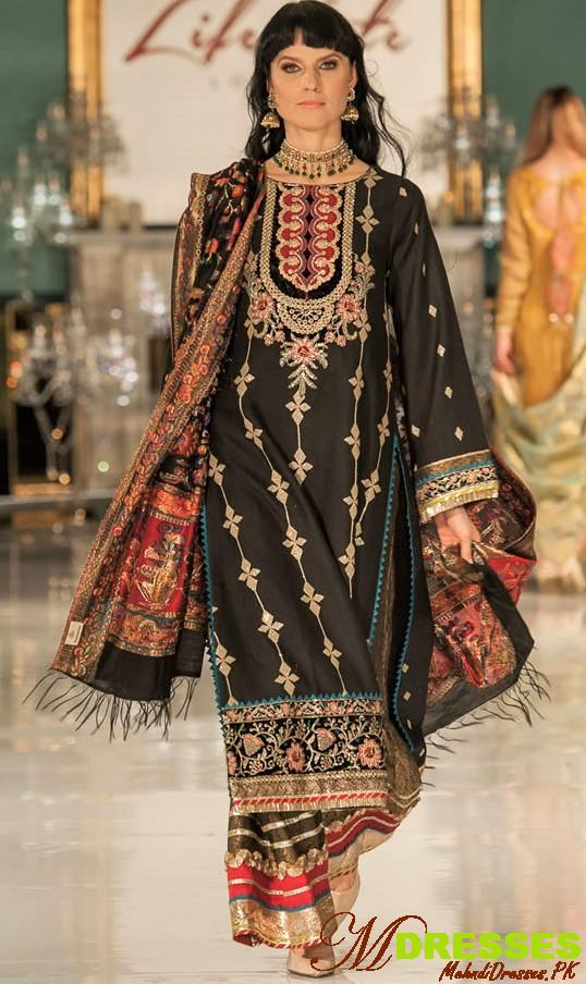 Saadia Asad embroidery kurta Lifestyle London