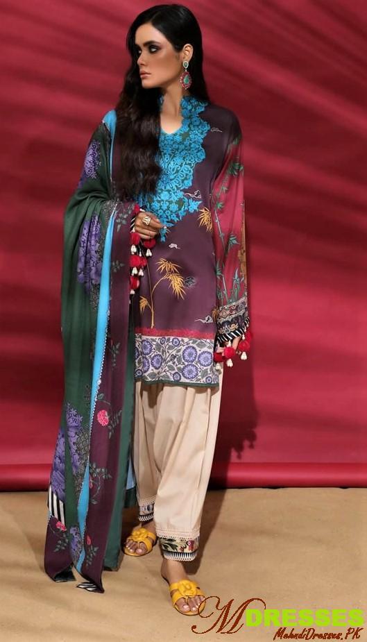Sana Safinaz Winter Muzlin Collection 2019-2020