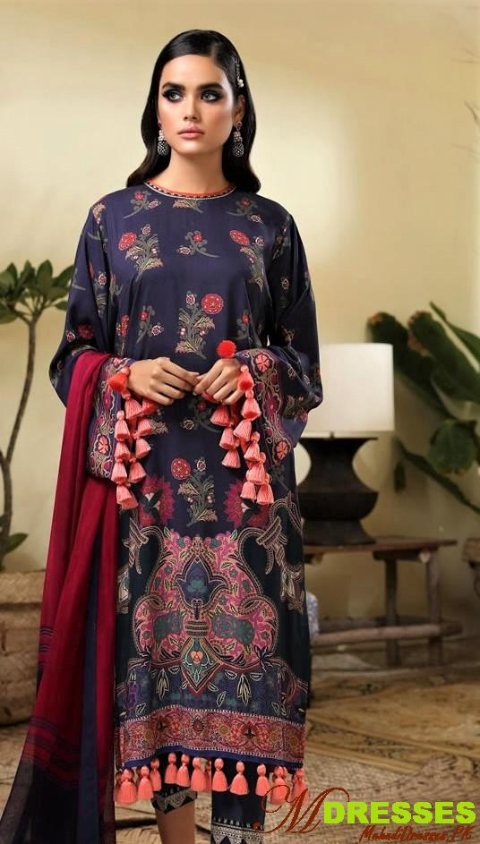 Latest Sana Safinaz Winter Muzlin Collection 2019-2020