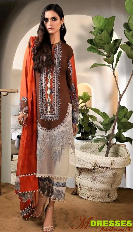 Luxury muslin cloth pakistan winte fashion