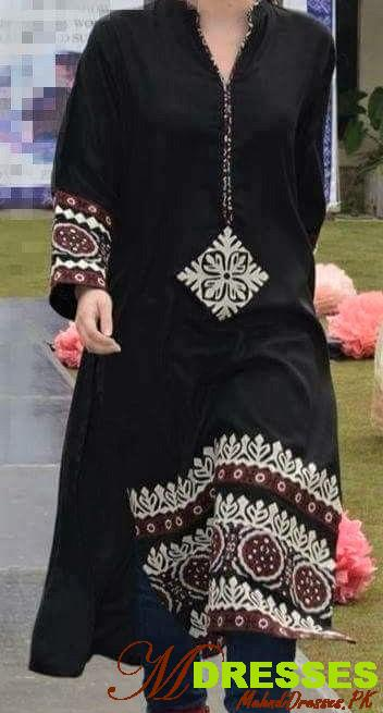 Sindhi Ajrak Shawl style and kurta
