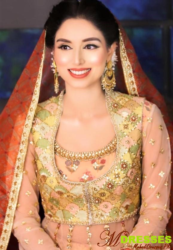 Beautiful Zainab Abbas Marriage Mehndi,Mayun, Nika,Wedding Dresses