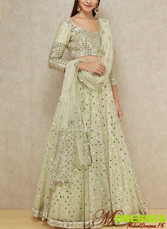 Latest Mirror Work Dresses In Pakistan