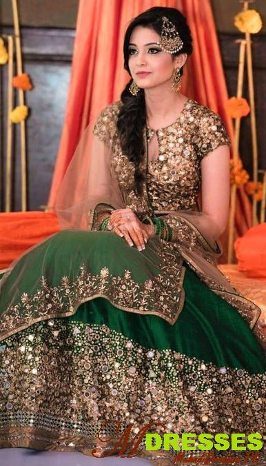Best Latest Mirror Work Lehengas for females