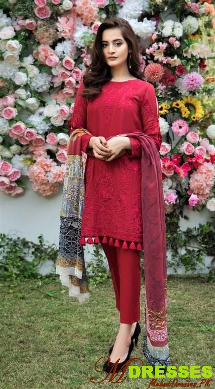 red Winter Kurtis for Ladies