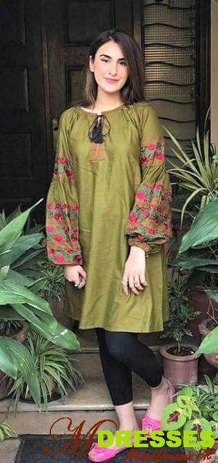 winter long sleeves kurta