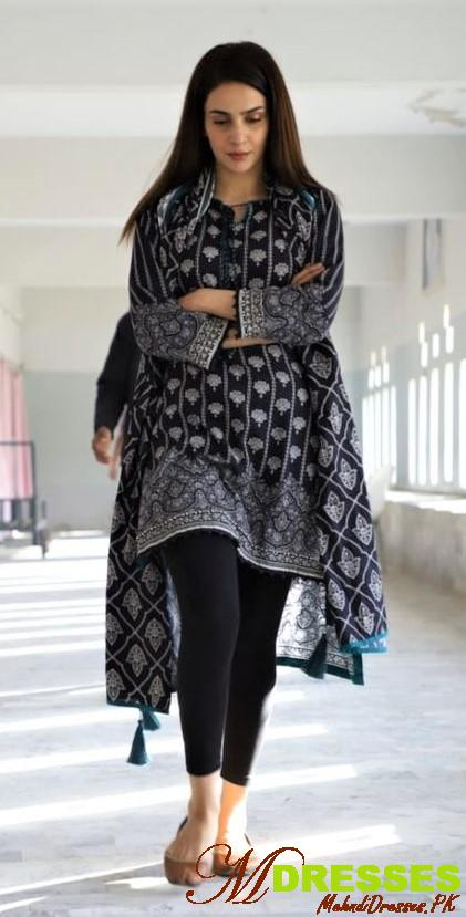 pakistani printed kurti fashion