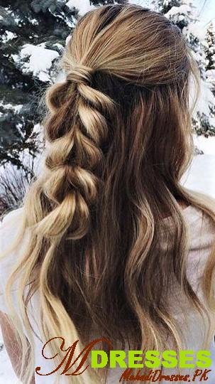 pretty hairstyle style for winter