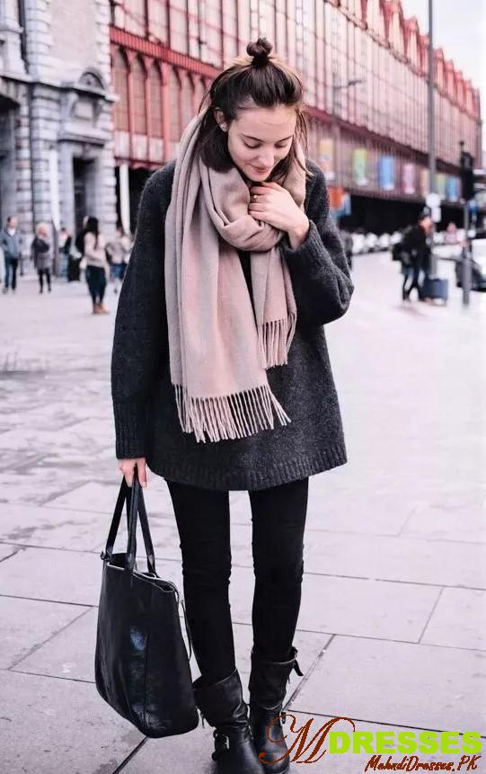 Warm Winter Party Tops