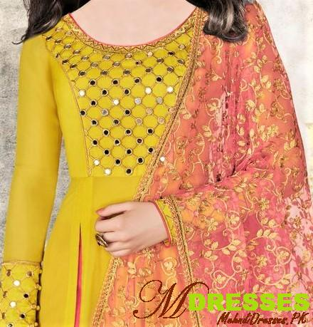 Latest Mirror Work Dresses In Pakistan