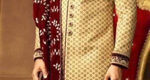 men kurta style sherwani pakistani