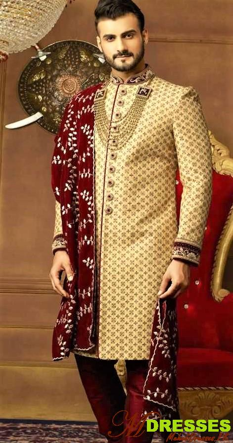 Latest Sherwani Designs in Pakistan for Men Wedding