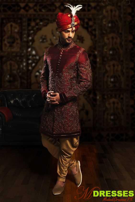 best Dhoti Style Sherwani