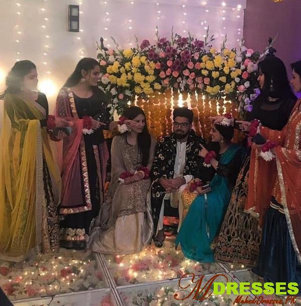 Yasir Hussain Wedding Mehndi picture