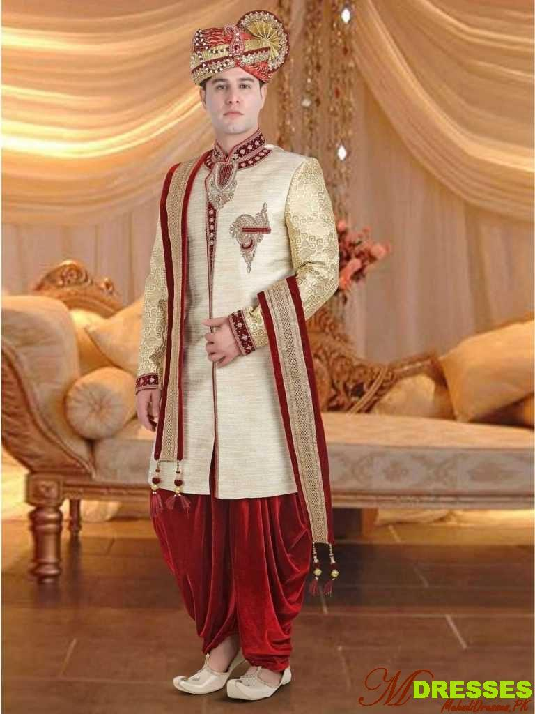 Latest dhoti Sherwani Designs in Pakistan for Men