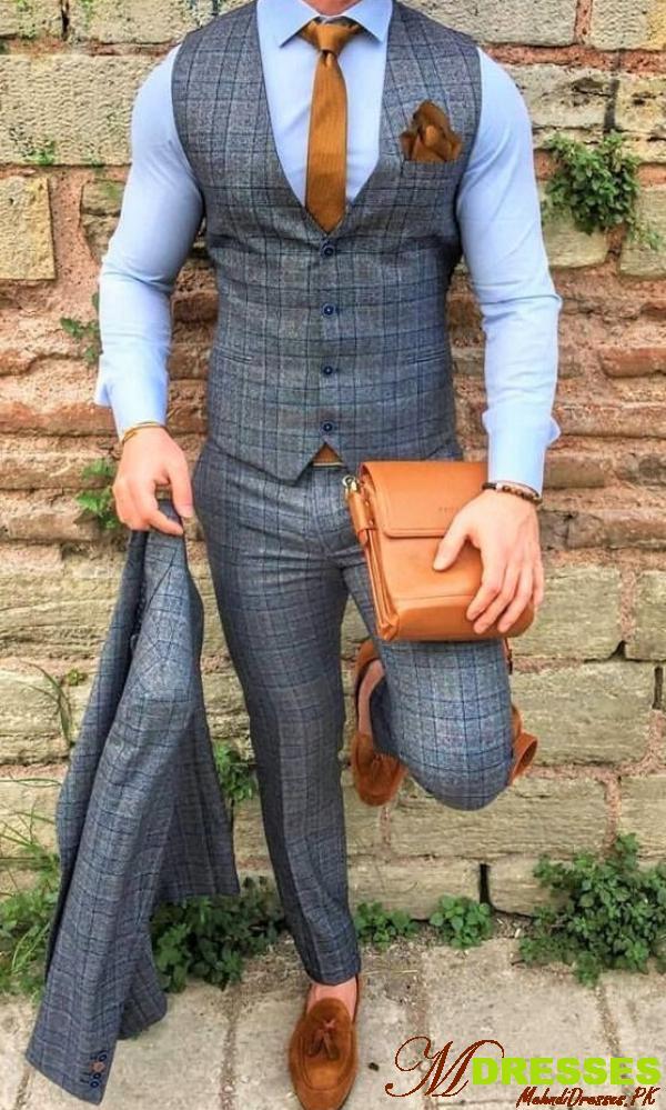 vest style suits design