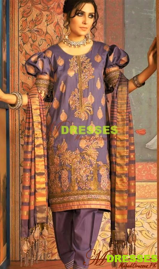 Alkaram Embroidered Winter Collection Suits