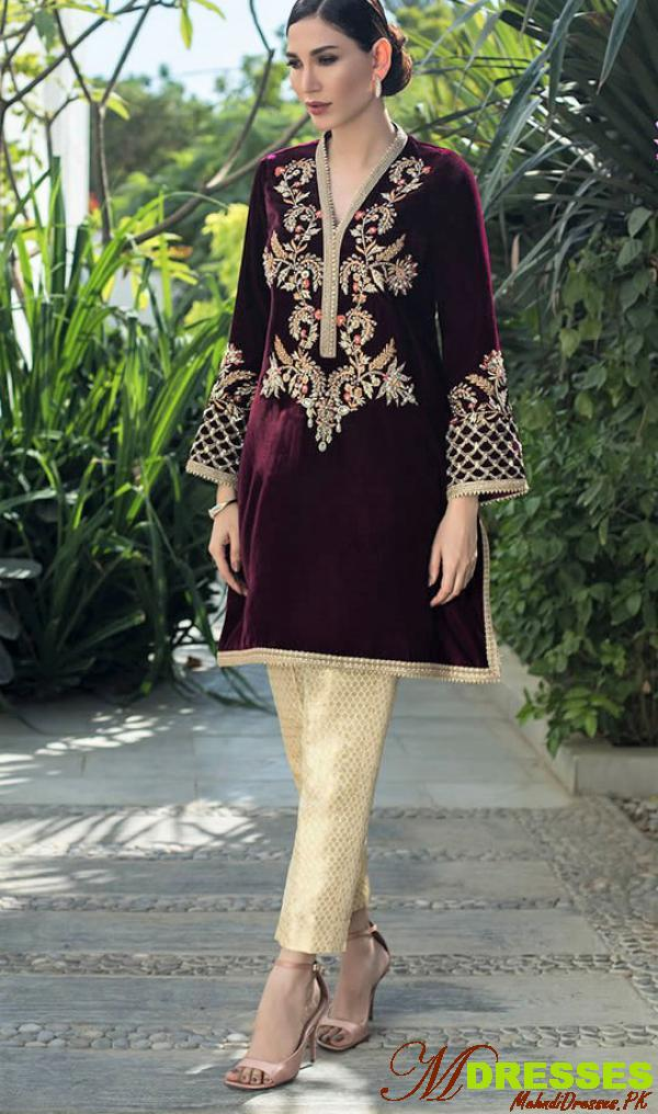 Deepak Perwani Velvet Collection Royal Rogue 2020 Dresses