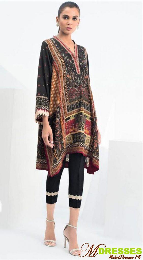 Sania Makatiya embroidery dress designs