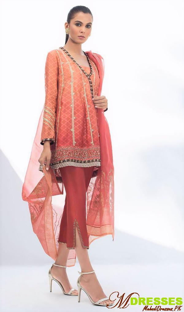 Sania Makatiya embroidery formal wear dresses
