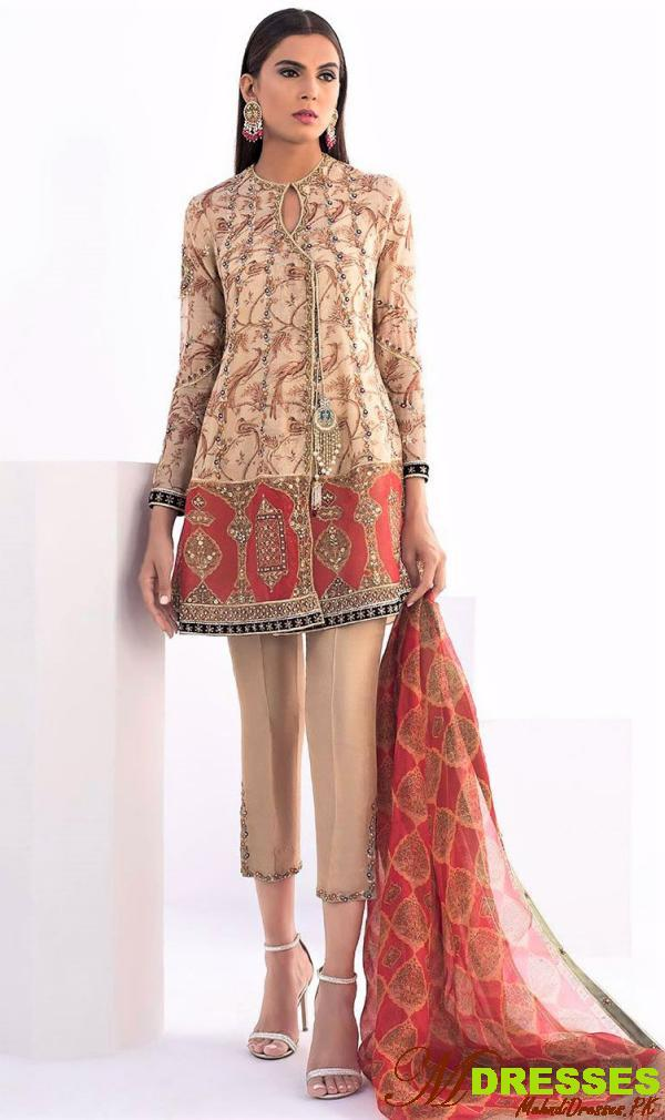 Sania Makatiya embroidery suits collection