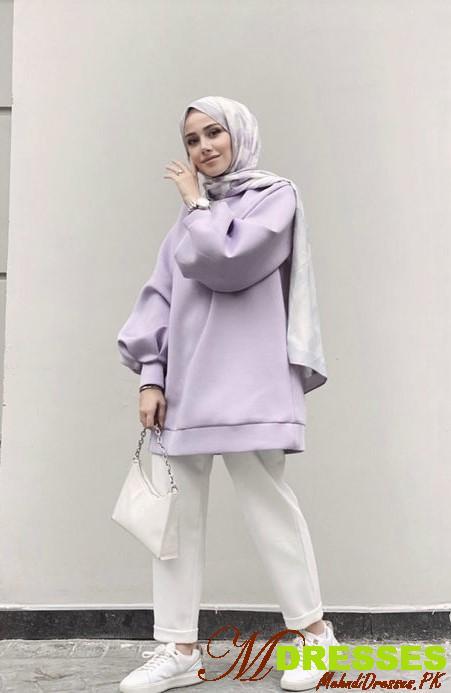 Casual Hijab Pakistani