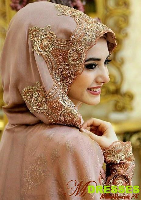Fancy Hijab Design